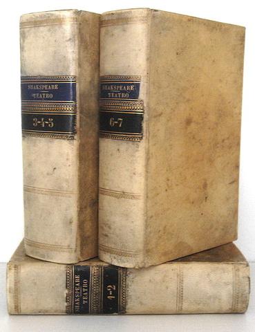 William Shakespeare - Teatro completo voltato in prosa italiana da Carlo Rusconi - 1858
