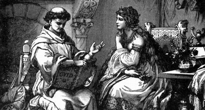 Pietro Abelardo - Dinanzi ai libri aperti parlavamo più di amore che di filosofia