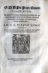 Pio V sopra il voto di obbedienza negli ordini secolari