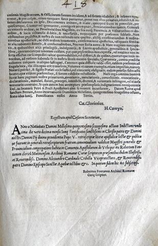Pio V disciplina le proprietà francescane