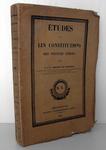 Simonde de Sismondi - Etudes sur les constitutions - 1839