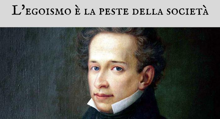 Giacomo Leopardi - L'egoismo è la peste della società