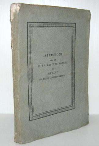 Preture forensi del Regno Lombardo-Veneto