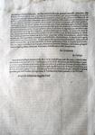 Bolla di Pio V che disciplina i testamenti - Roma, Blado 1571