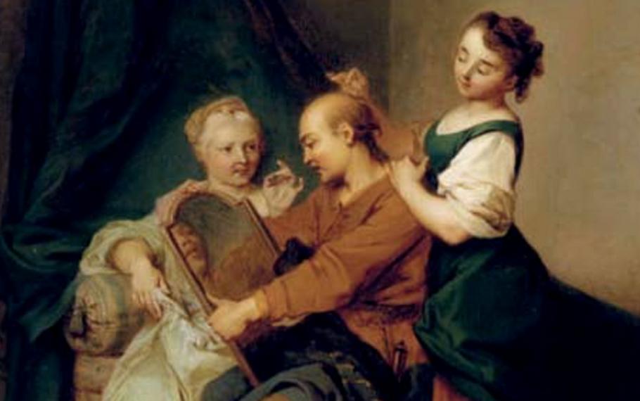 Esopo - L'uomo brizzolato e le sue amanti