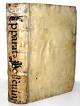 Il medoto storico: Antonio Possevino - De apparatu ad omnium gentium historiam - 1602