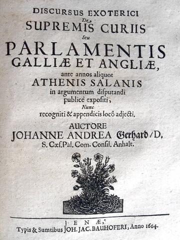 Miscellanea di sei opere seicentesche sul diritto pubblico imperiale - 1651-1665