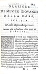 Un classico cinquecentesco: Giovanni Della Casa - Galateo, rime e prose - 1598 (bellissima legatura)