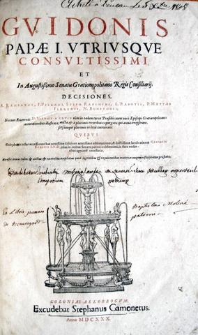 Guy Pape - Decisiones Grationopolitanae
