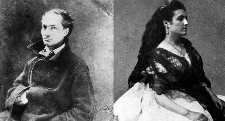 La lettera d'amore di Charles Baudelaire alla musa Jeanne Duval