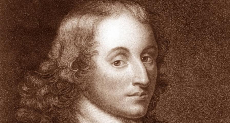 Blaise Pascal - Non ci accontentiamo mai del presente
