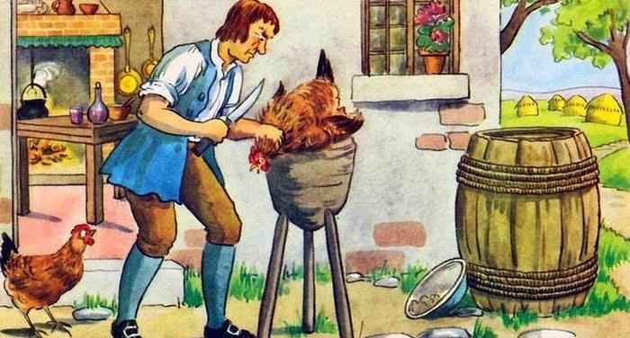 Esopo - La gallina dalle uova d'oro