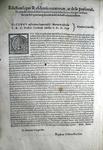 Editto di Pio sulla disciplina dell'edilizia funeraria e cimiteriale - Roma - Blado 1567