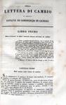 Louis Nouguier - Delle lettere di cambio e degli effetti di commercio in genere - 1843