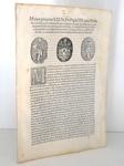 Moto proprio Pio IV che disciplina il piccolo commercio a Roma - Blado 1562