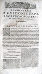Guy Pape - Decisiones Grationopolitanae - 1630