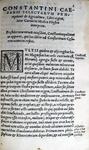 Constantini Caesaris selectarum praeceptionum de agricultura libri viginti - Venetiis 1538