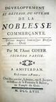 Gabriel Francois Coyer - Developpement et defense du systeme de la Noblesse commercante - 1757