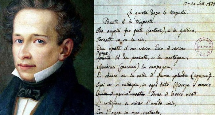 Giacomo Leopardi - La quiete dopo la tempesta