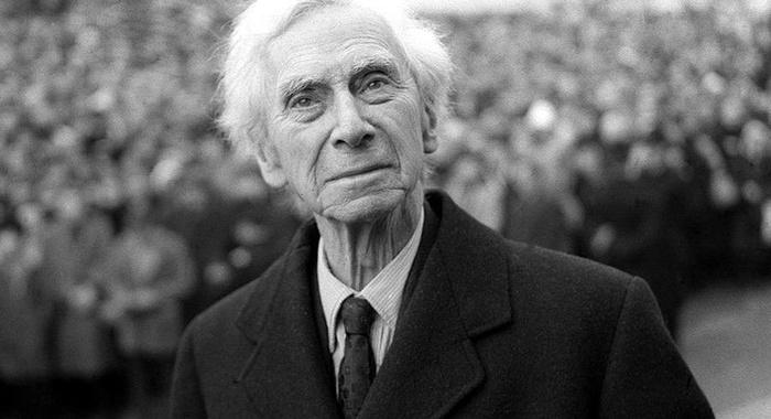 Bertrand Russell - Le cose indispensabili alla felicità umana sono semplici