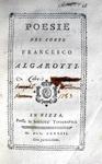 Francesco Redi e altri autori - Poesie - Nizza 1781-83
