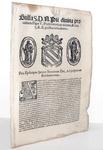 Bolla di Pio V sui feudi e le municipalità - Roma, Blado 1567