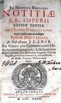 Johann Heinrich Boecler - Notitiae S.R. Imperii - 1723