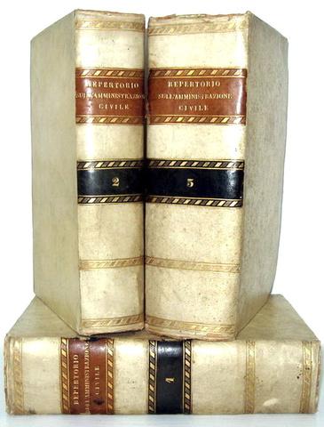 Repertorio amministrativo del Regno delle Due Sicilie - 1841