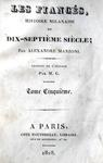 Alessandro Manzoni - Les fiancés histoire milanaise - Paris 1828 (prima o seconda traduzione francese)