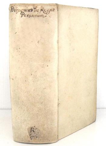Storia di Persia: Barnaba Brisson - De regio Persarum principatu libri tres - 1710