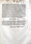 Bolla di Pio V che disciplina la messa durante i Vespri - Roma, Blado 1567