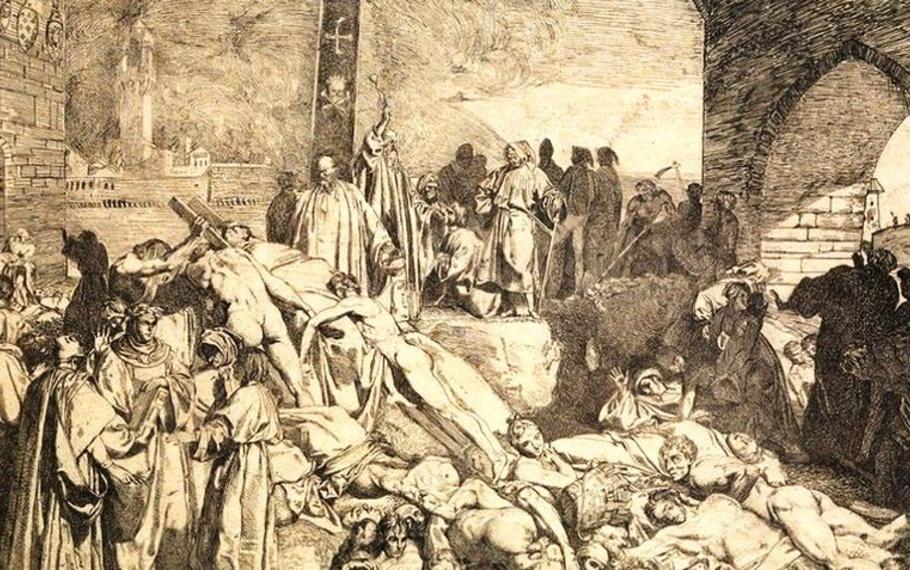 Alessandro Manzoni - Quella caparbietà di negar la peste