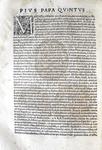 Pio V incarica Alessandro Riario