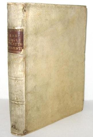I giochi nel Cinquecento:  Bargagli - Trattenimenti, dilettevoli giochi e amorose canzonette - 1592