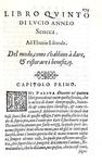 Lucio Anneo Seneca - De' benefizii tradotto in volgar fiorentino da m. Benedetto Varchi - 1574