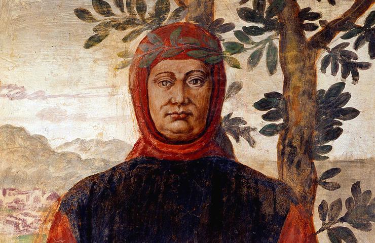 Francesco Petrarca - Non riesco a saziarmi di libri