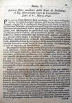 Rescritto di Maria Teresa D'Austria - 1742
