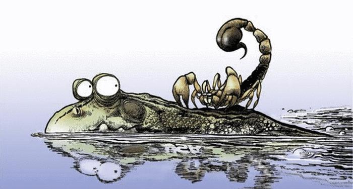 Esopo - La rana e lo scorpione