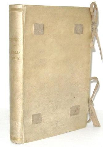Gabriele D'Annunzio - La figlia di Iorio. Tragedia pastorale - Milano, Treves 1904 (prima edizione)