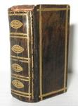 Straordinario libro in miniatura del 1737