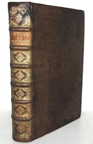 Un capolavoro del Cinquecento: Michel de Montaigne - Les Essais - 1657 (rara edizione in folio)