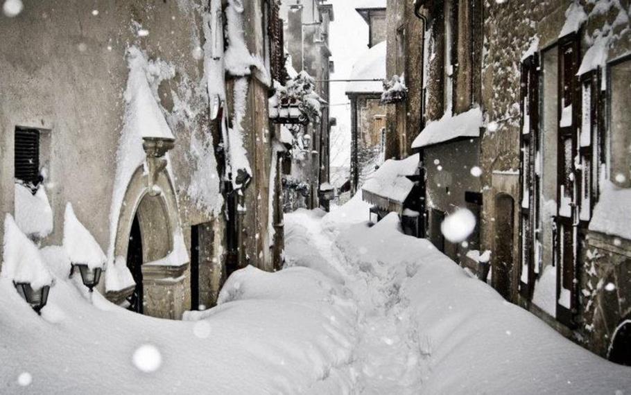Giosuè Carducci - Nevicata