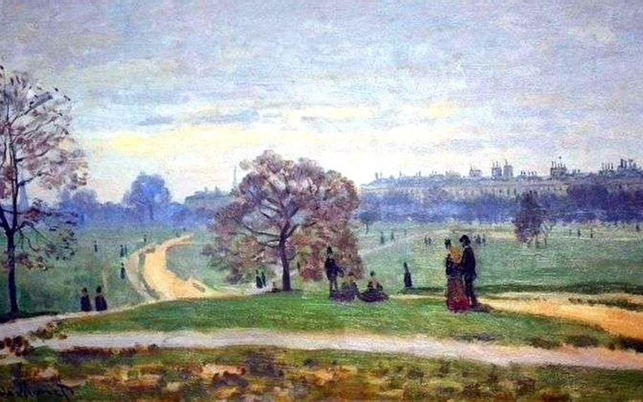 Elias Canetti - Un parco a Londra