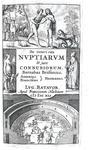 Il diritto nuziale nel '500: Brisson & Hotman - De veteri ritu nuptiarum et jure connubiorum - 1641