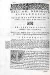 Remigio Nannini - Orationi militari raccolte da tutti gli historici greci e latini - Venezia 1560
