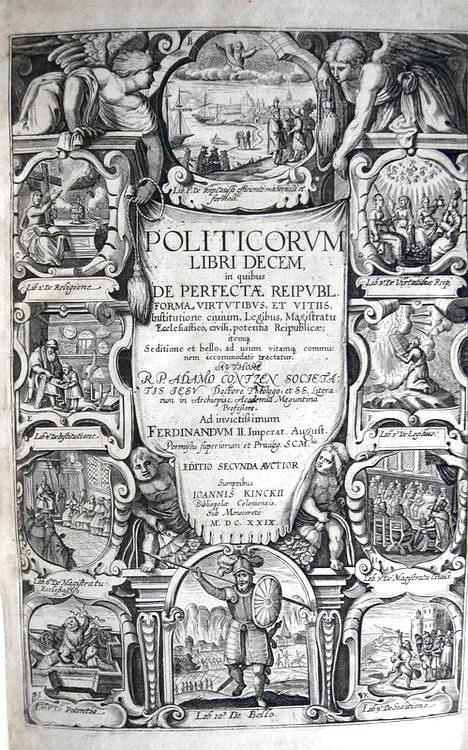 L'antimachiavellismo nel Seicento: Adam Contzen - Politicorum libri decem - 1629 (video)