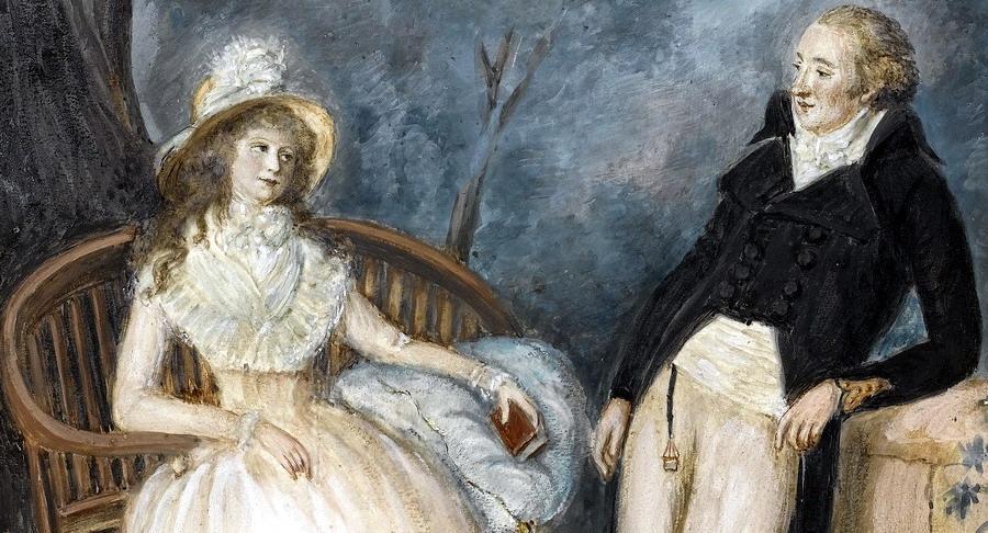 La lettera d'amore di Johann Wolfgang Goethe a Charlotte Von Stein (1781)