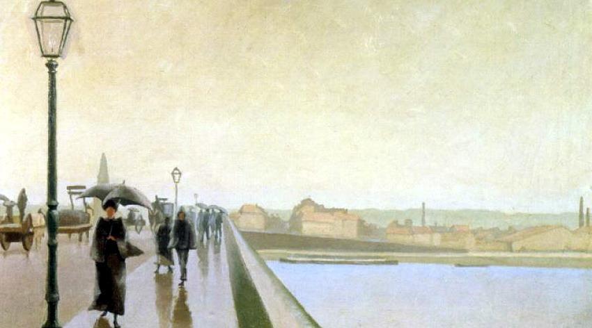 Wislawa Szymborska - Gente sul ponte