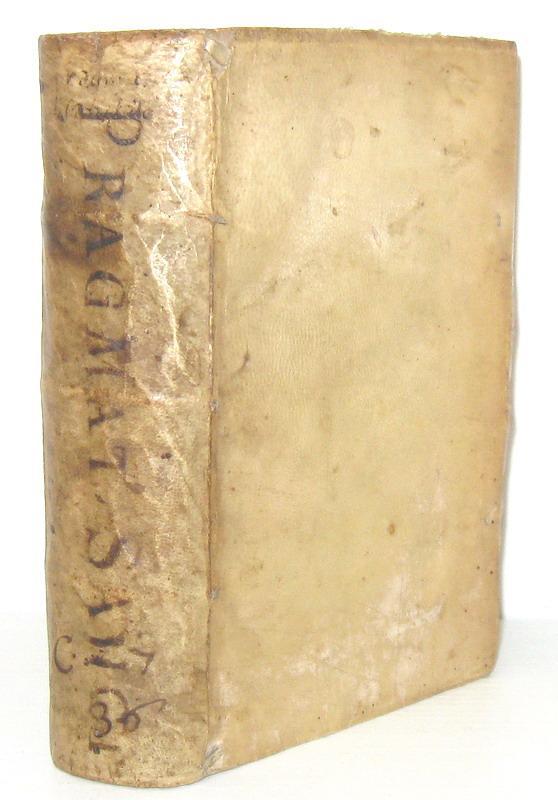 La massima espressione del Gallicanesimo: Pragmatica Sanctio cum concordatis - Lugduni 1538 (raro)