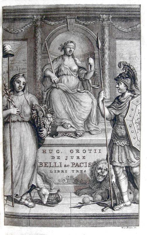 La nascita del diritto internazionale: Hugo Grotius - De jure belli ac pacis & De mari libero - 1720